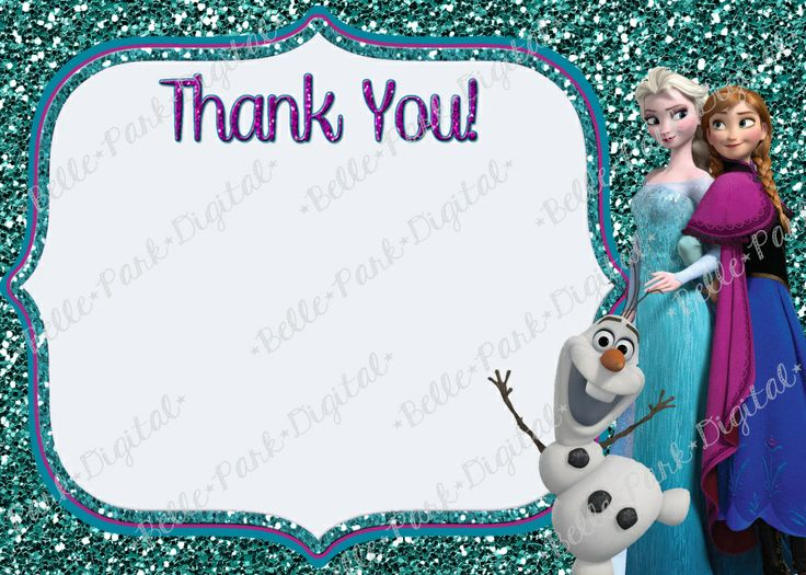 Free Disney Frozen Birthday Invitations ~ Best frozen birthday images frozen birthday