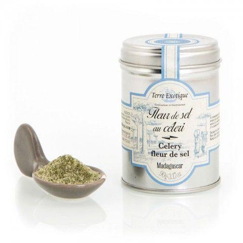 Fleur de sel au céléri - Celery fleur de sel