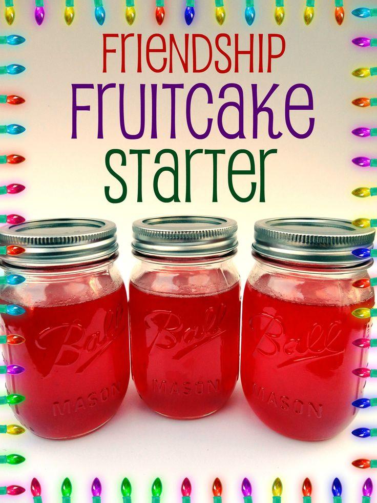 amish friendship fruit cake starter