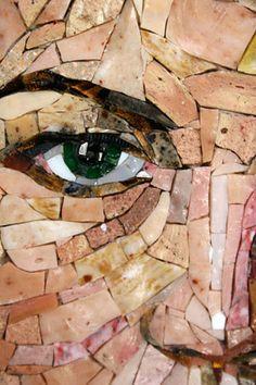 Mosaic Portraits on Pinterest | Mosaic Portrait, Mosaics and ...