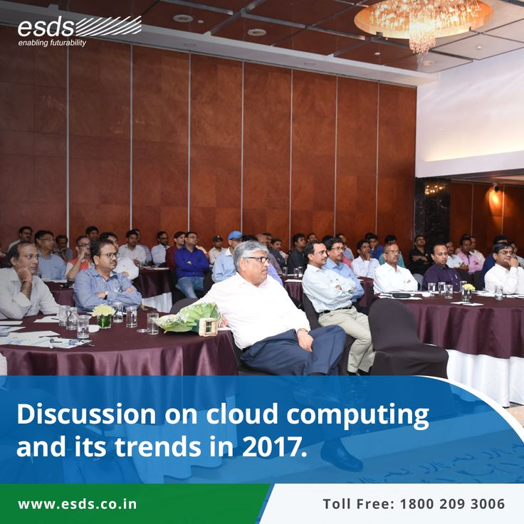 Discussion on #CloudComputing and its trends in 2017, discussed at event hosted by @HPE and @ESDS at #Kolkata. #cloud #technology #IT