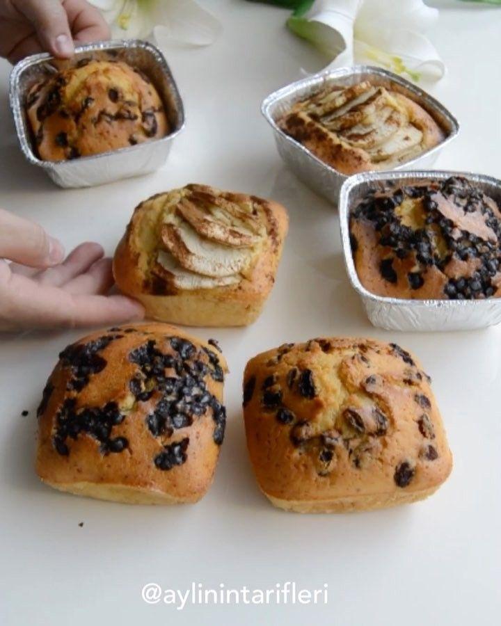 """442 Beğenme, 26 Yorum - Instagram'da Aylin Bedir Kılıç (@aylinintarifleri): """"Çeşit çeşit Kek . Malzemeler  4 yumurta 1 paket pudra şekeri 1 kulplu çay bardağı sıvıyağ 1 kulplu…"""""""