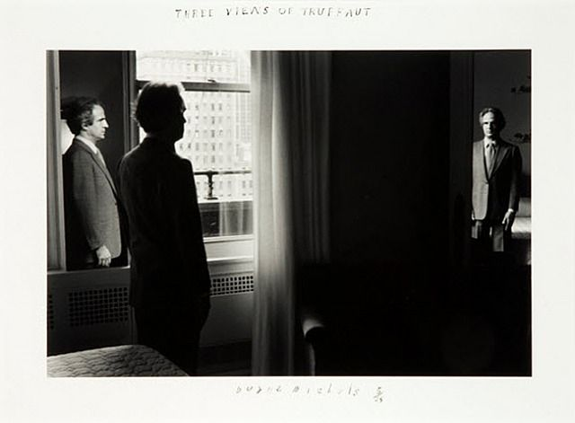 Three Views of Truffaut by Duane Michals, 1981