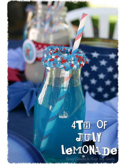 fourth of july creative recipes