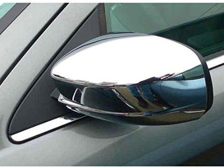 200 2011-2014, 300 SEDAN 2011-2015 CHRYSLER & CHARGER 2011-2015 DODGE (2 pieces: Mirror Cover set: *Chrome Plated ABS plastic - Imported) MC51760