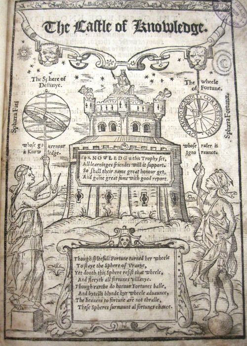 Robert Record, Castle of Knowledge (1556)