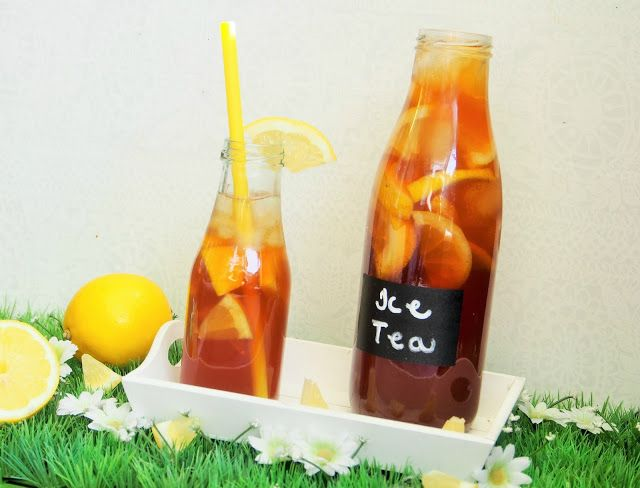 Sitruunainen jäätee, Ice Ice Baby! - Peggyn pieni punainen keittiö