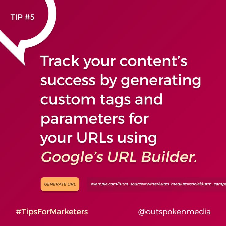 Know how well your content performs by using UTM codes #tipsformarketers #socialmediastrategy #contentstrategy #marketingtools