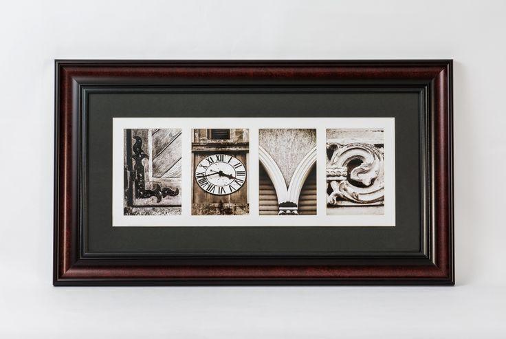 Alfabetfoto letter art frame