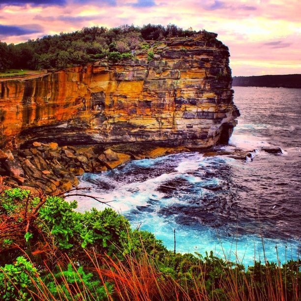 The Gap Park, Watsons Bay, Sydney, Australia — by Brian Thio. view of the cliffs of the gap at vaucluse/watsons bay, sydney, australia. truly a great urban oasis.