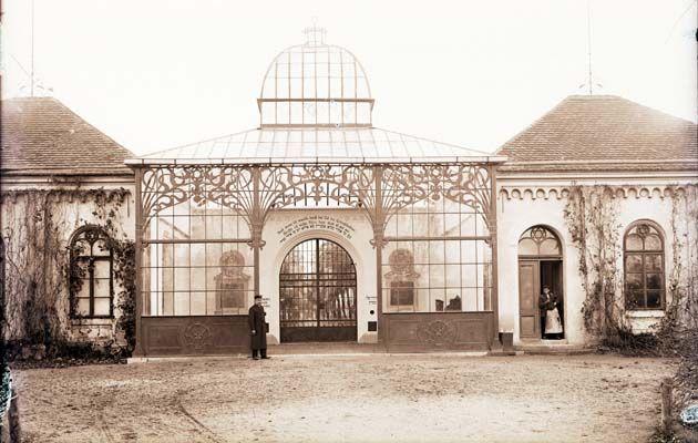 Židovský hřbitov - vstupní brána, Žatec