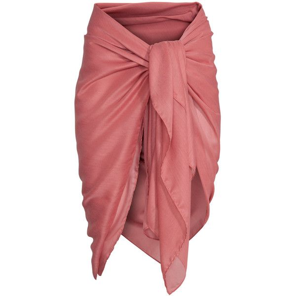 Sarong $6.99 ($6.99) ❤ liked on Polyvore featuring swimwear, cover-ups, sarong cover ups and sarong swimwear