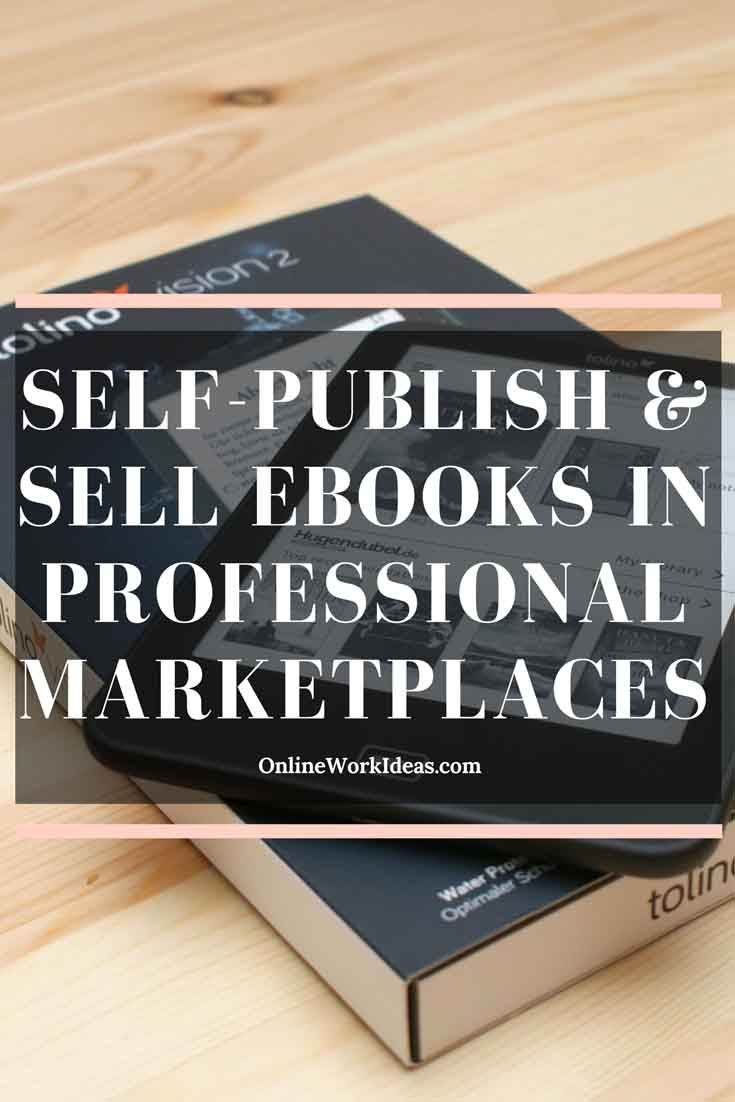 Write and self-publish your favourite subject or about a subject you researched to solve a problem. Upload it on professional online marketplaces specialised in ebooks making and they will promote and distribute it to millions of potential customers in 170 countries. Some of the most popular marketplaces are: