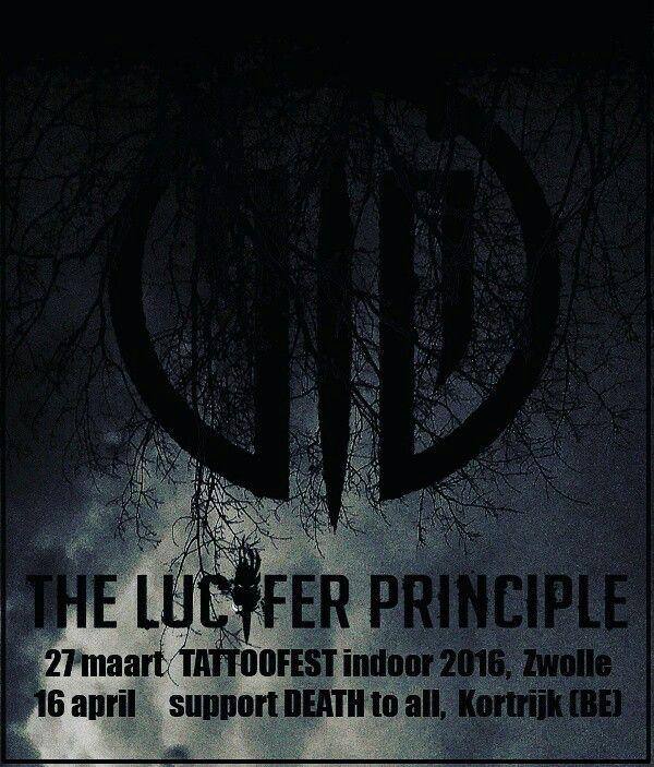 Upcoming gigs #theluciferprinciple #deathmetal #dutchdeathmetal