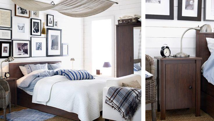إليك بعض الخدع التي نستعملها لتصميم غرفة نوم أنيقة لا تتعدى الميزانية. حائط في صورة معرض، وسرير مظلة مريح وأثاث متناسق يجعل هذه الغرفة تبدو وكأننا أنفقنا ثروة  - لكن لا يخفى عليك أننا لم نفعل ذلك