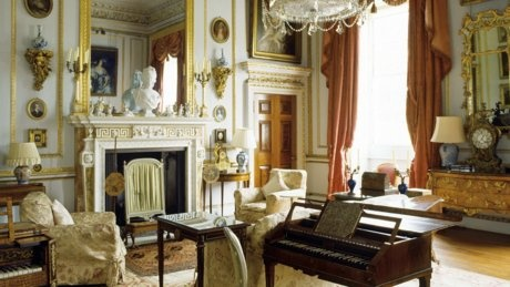 The drawing room at Hatchlands Park, Surrey
