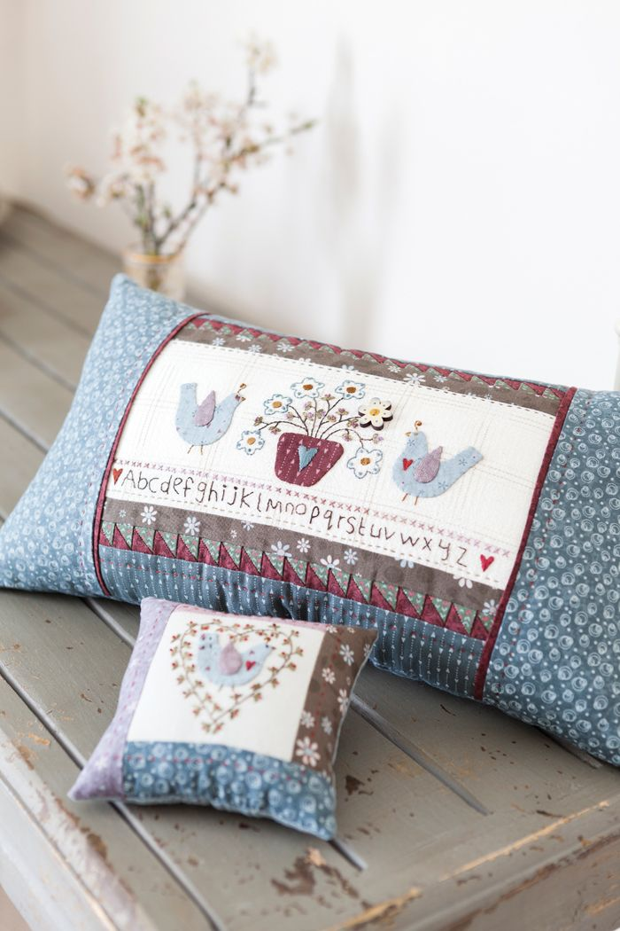 country style quilting cushion