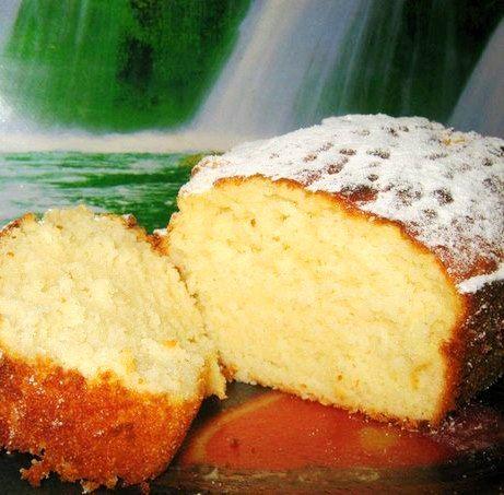 Кекс ванильный на кефире | Kurkuma project (Проект Куркума) Очень вкусный, нежный кекс. Совсем не сложный в приготовлении. Не успел до конца остыть, как был съеден.