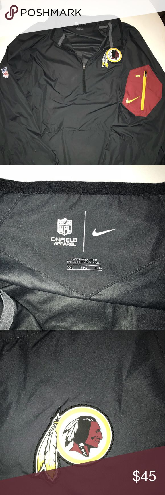 XXL Washington Redskins Nike Dri-Fit Jacket XXL Nike Dri-fit Washington Redskins Jacket. Basically brand new. 9/10 condition. Fits more like an XL. Retail ~$100 Nike Jackets & Coats Performance Jackets