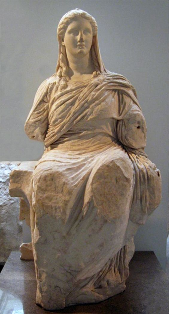 demeter greek goddess statue - photo #25