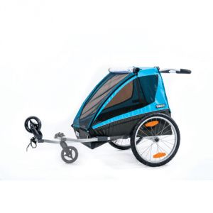 Thule Coaster 2 Child Carrier with Bicycle Trailer Kit and Stroller Kit  #Bicycle #Carrier #Child #Coaster #Stroller #Thule #Trailer CyclingDuds.com