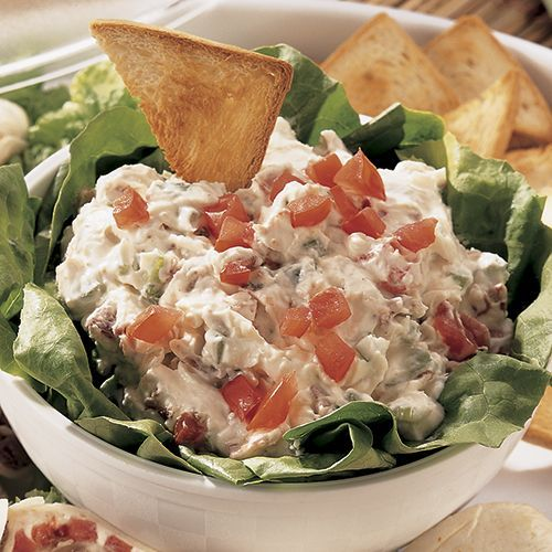 Bacon, Lettuce & Tomato Dip - Recipes   The Pampered Chef