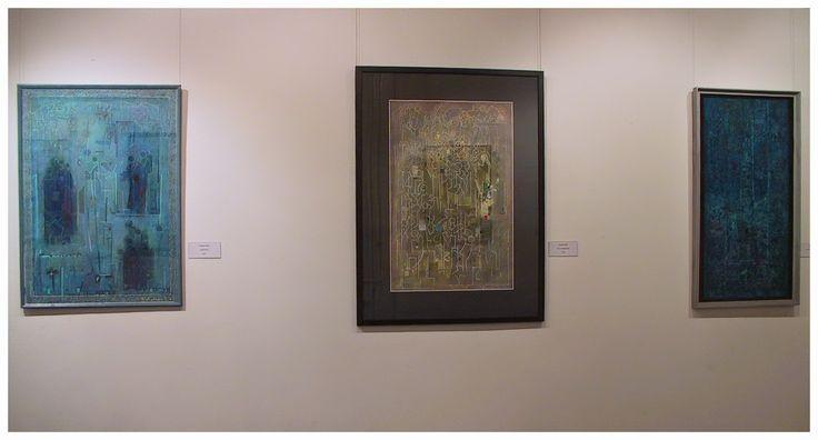 """Alföldi László András: Álom és valóság - Fischer Ernő és a Budaörsi Műhely """"Öten"""" alkotó csoportjának kiállítása"""