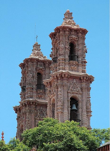 Santa Prisca Church, Taxco, Mexico