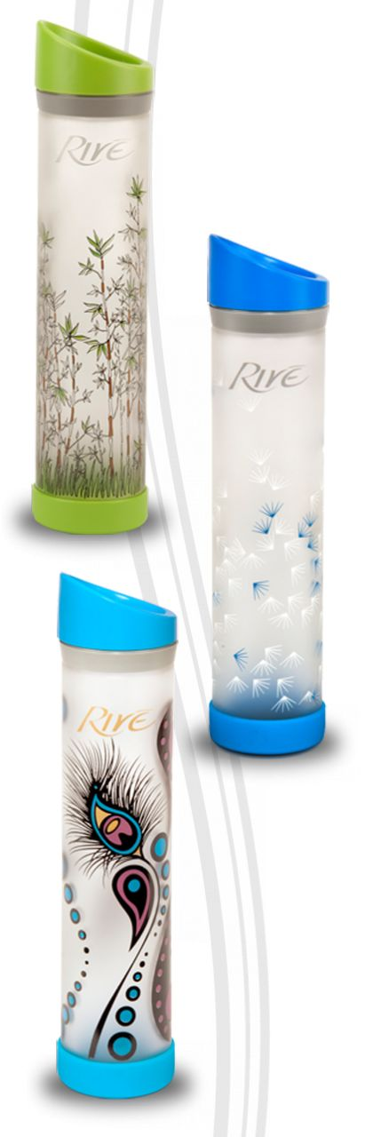On the hunt for a new water bottle after my favorite one bit the dust.  These look so pretty and they have one with a Prague skyline design. Rive' LLC - Savoy Designer Series, $25.00 (http://www.riveusa.com/savoy-designer-series/)