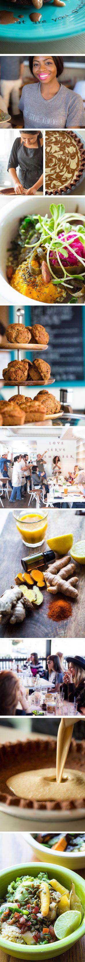 Cafe Gratitude (Berkley, LA, other locations, CA)