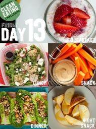 DEN 13 - přijměte výzvu a zkuste 14 denní čistou stravu