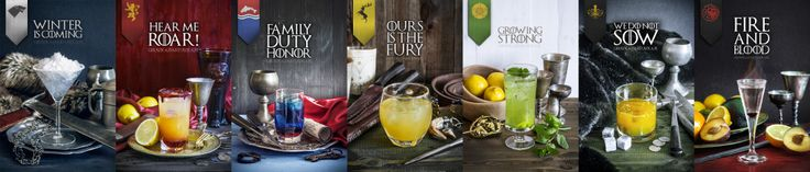 game of thrones houses wide drinki gra o tron