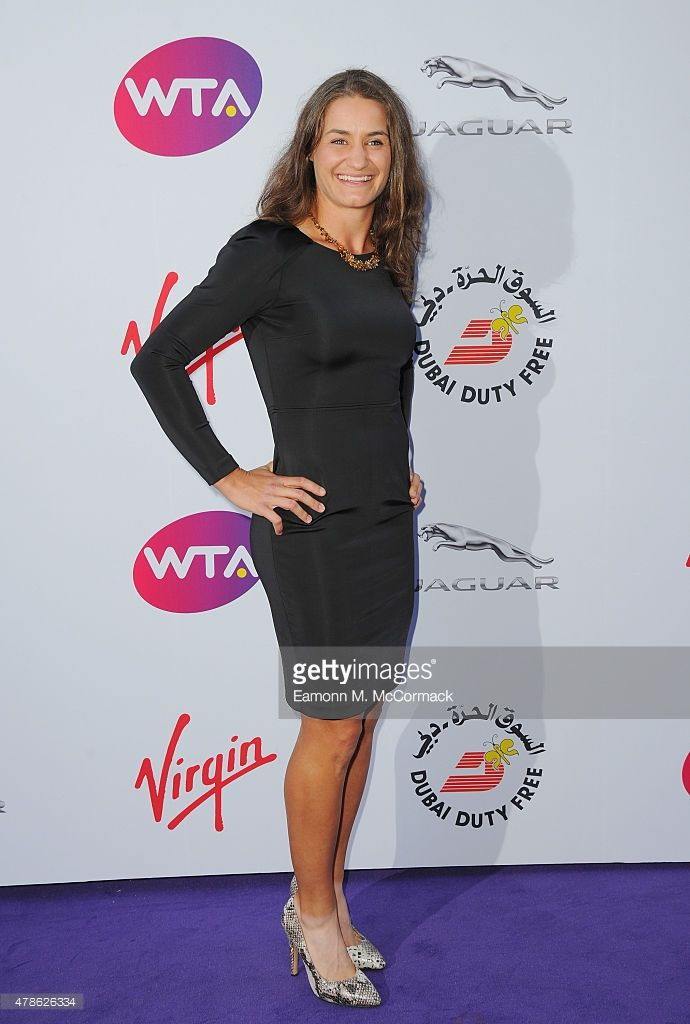 Monica Niculescu attends the annual WTA Pre-Wimbledon Party presented by Dubai Duty Free at The Roof Gardens, Kensington on June 25, 2015 in London, England.