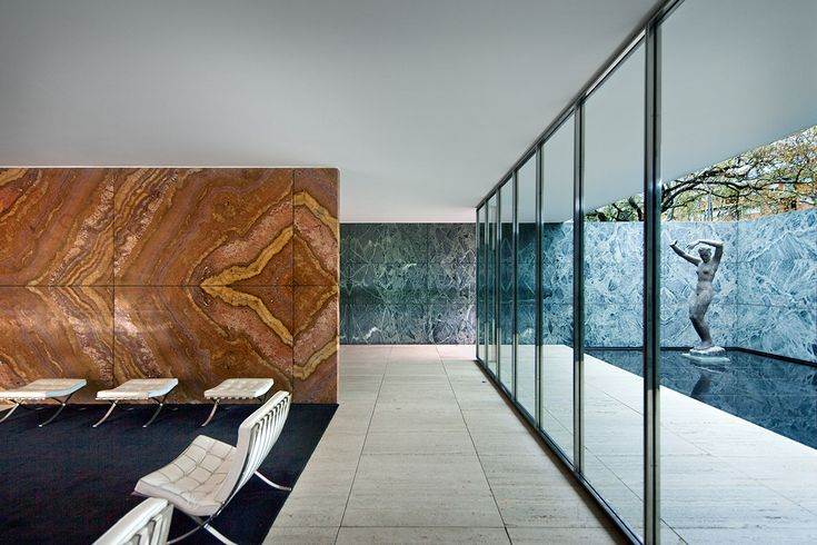 Barcelona Pavilion on Behance