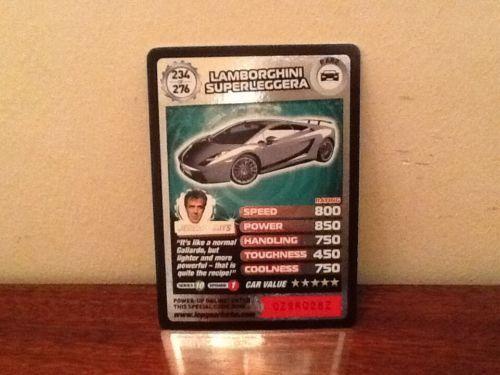 Top Gear Turbo Challenge RARE Lamborghini Superleggera 234/276
