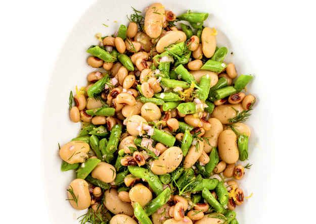 Simple BEAN SALAD