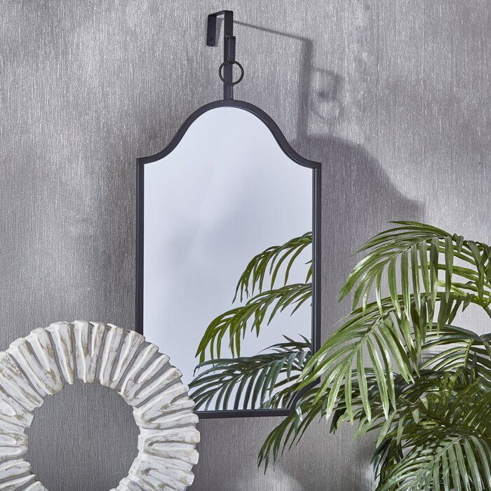Cherelle Metal And Glass Wall Accent Mirror Framed Mirror Wall Frames On Wall Accent Mirrors