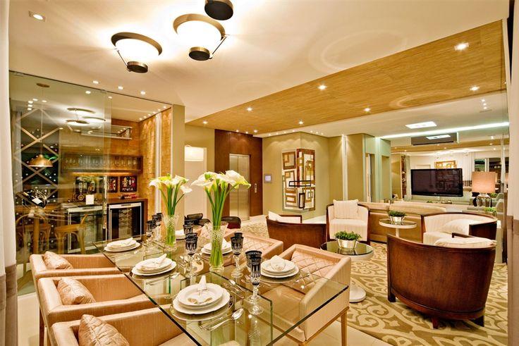 living room / sala de estar / jantar / adegas / home decor / bohrer arquitetura / interior design / arte / art / pintura sobre tela / painting on canvas / artwork / regina menezes