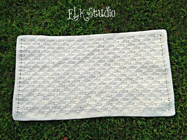 Surprisingly Simple Rug by ELK Studio: free #crochet pattern