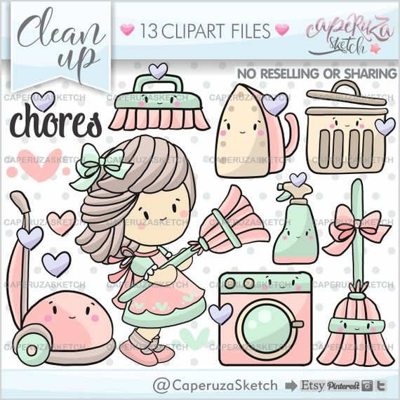 Clean Up Clipart Clean Up Graphics Cleaning Clipart Commercial