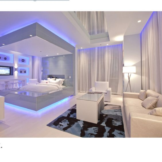 17 Best Ideas About Futuristic Bedroom On Pinterest