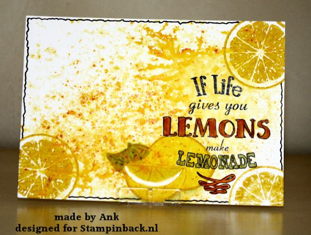 STAMPINBACK.NL: Lemonade