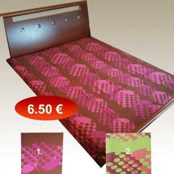Πικέ κουβέρτα υπέρδιπλη 220Χ240 βαμβακερή σε 2 διάφορα χρώματα 6,50...