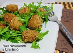 Polpette di Lenticchie e Sesamo - Ricetta Vegan