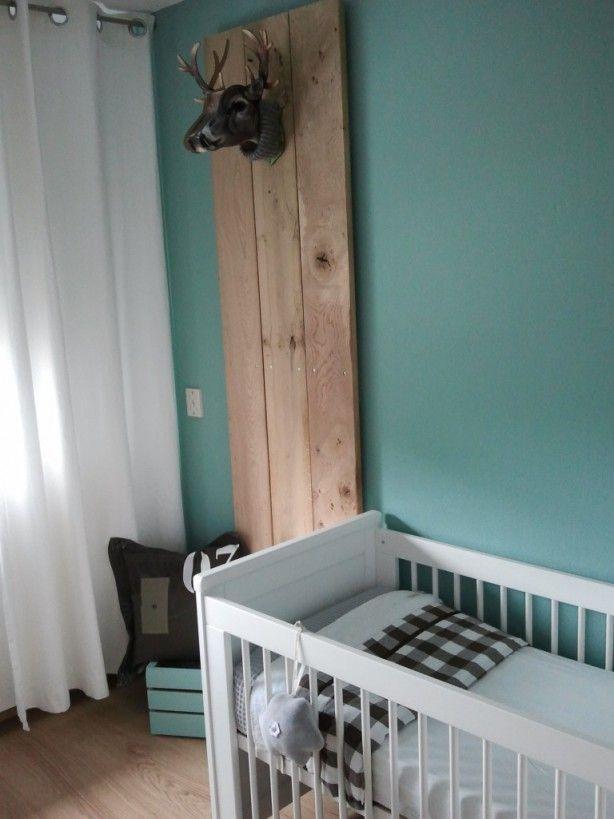 17 beste idee n over bos thema slaapkamers op pinterest bos slaapkamer bos kamer en bos decor - Muur kleur babykamer meisje ...