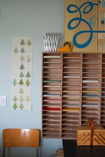 craft paper/ file storage