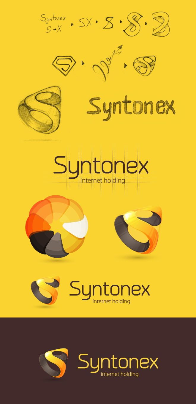 Syntonex - internet holding | #corporate #branding #creative #logo #personalized #identity #design #corporatedesign < found on www.webneel.com pinned by www.BlickeDeeler.de | Take a look at www.LogoGestaltung-Hamburg.de