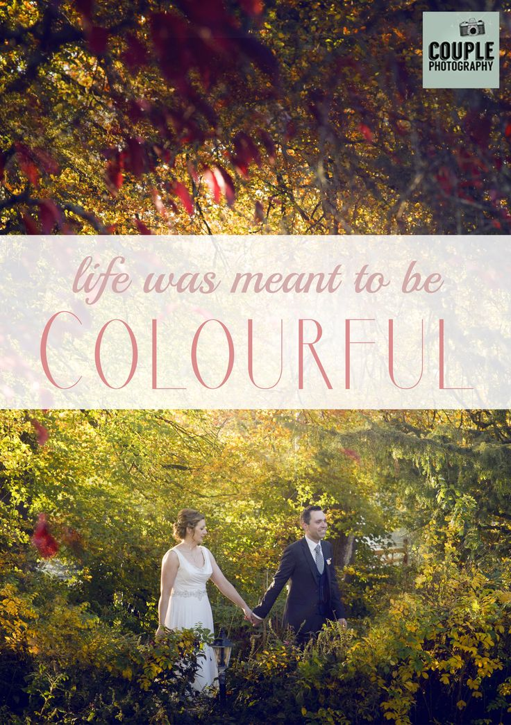 And colouful it was! Trish & Biran's Sligo Wedding by Couple Photography.