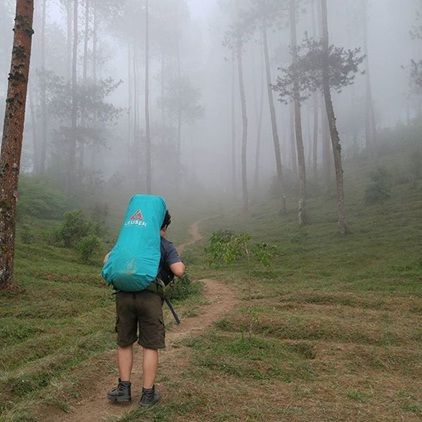 jalur pendakian gunung merbabu via suwanting