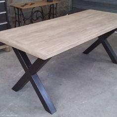 Best 25 pied table metal ideas on pinterest pied metal - Pied metal table ...